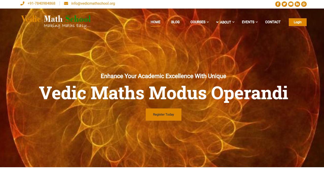 Vedic Math School